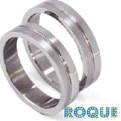サージカルステンレスリング 指輪 ペアリング ストレートライン