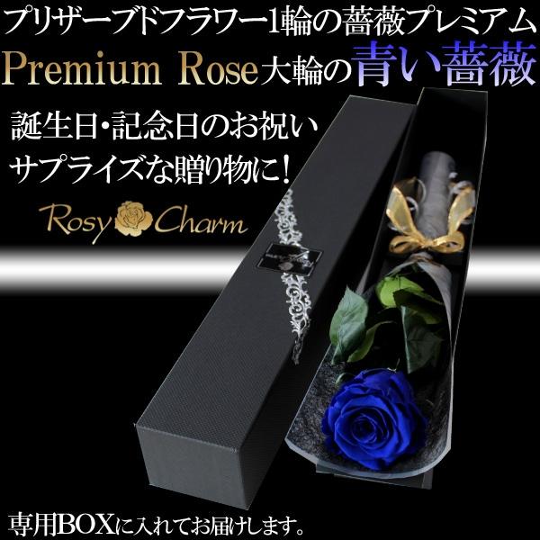誕生日・記念日・プロポーズ 青い薔薇