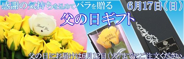 父の日に贈るバラ