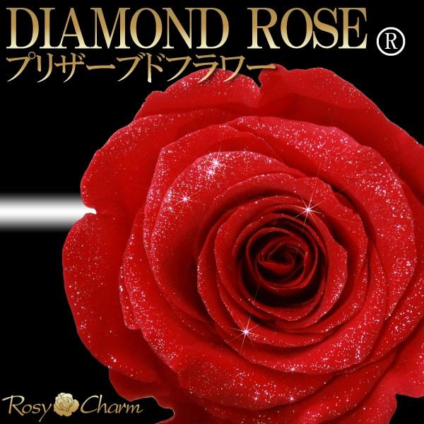 ダイヤモンドローズ赤い薔薇