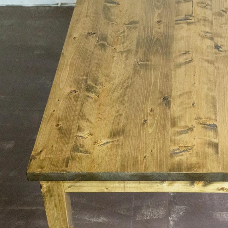 ゲイトマウスダイニングテーブル 天板アップ