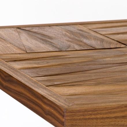 パークスダイニングテーブル 天板凹凸あり