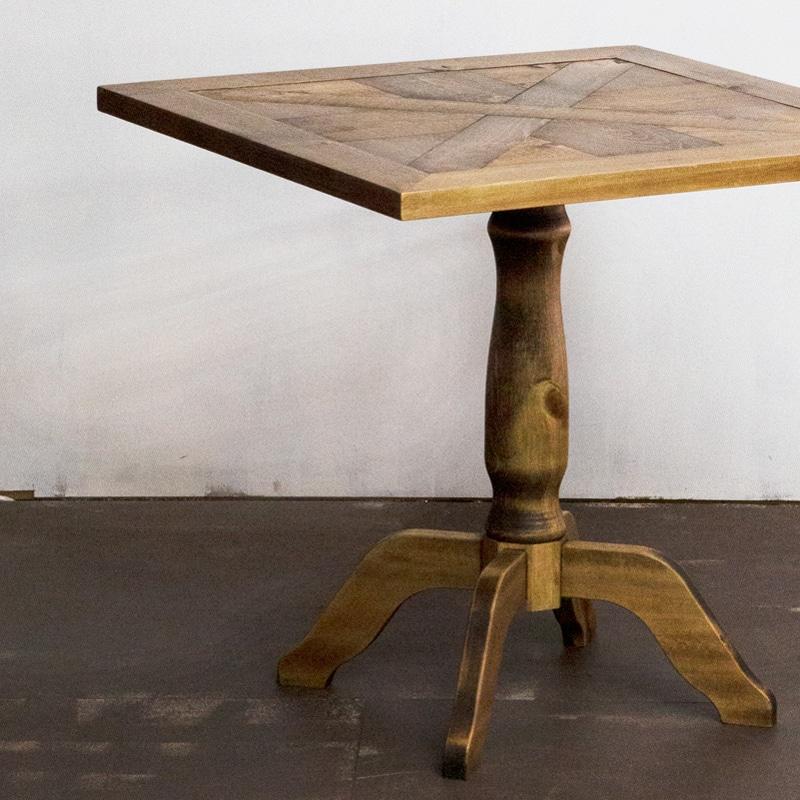 スタンカフェテーブル 木脚
