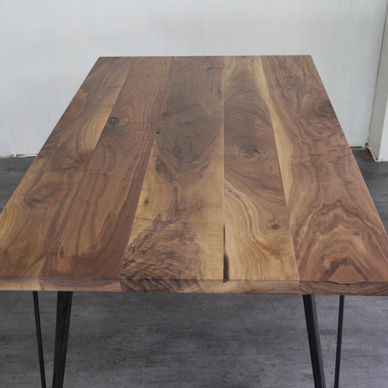 ゼルダバーテーブル ウォールナット 素材イメージ