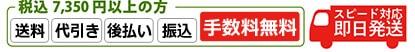 税込7,350円以上 送料無料 決算手数料 無料
