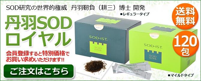 丹羽SOD ロイヤル 120包