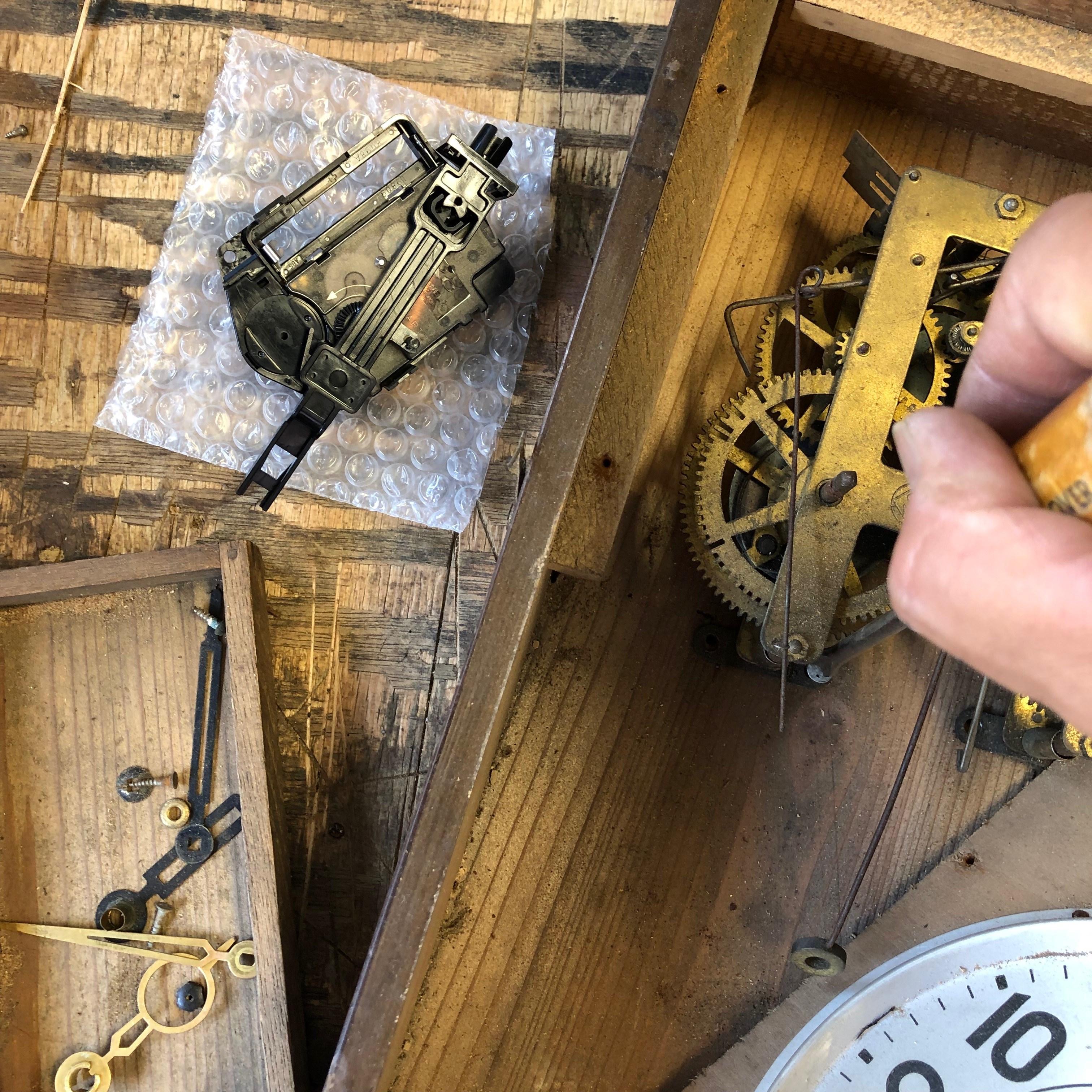 古時計レストア