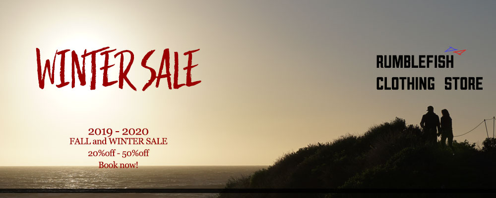 rumbleFISH Fall & Winter SALE