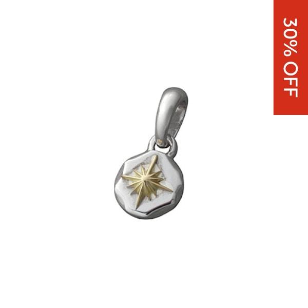 サンシンボルペンダントトップ K18(18金)ゴールド