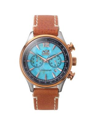 ターコイズ クオーツ電池式腕時計
