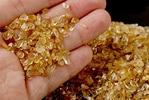 ルチルさざれ石水晶(財布布団専用さざれ)