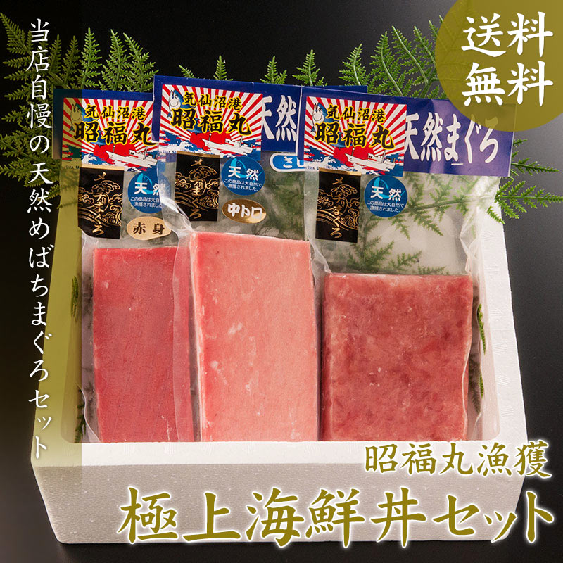 極上海鮮丼セット