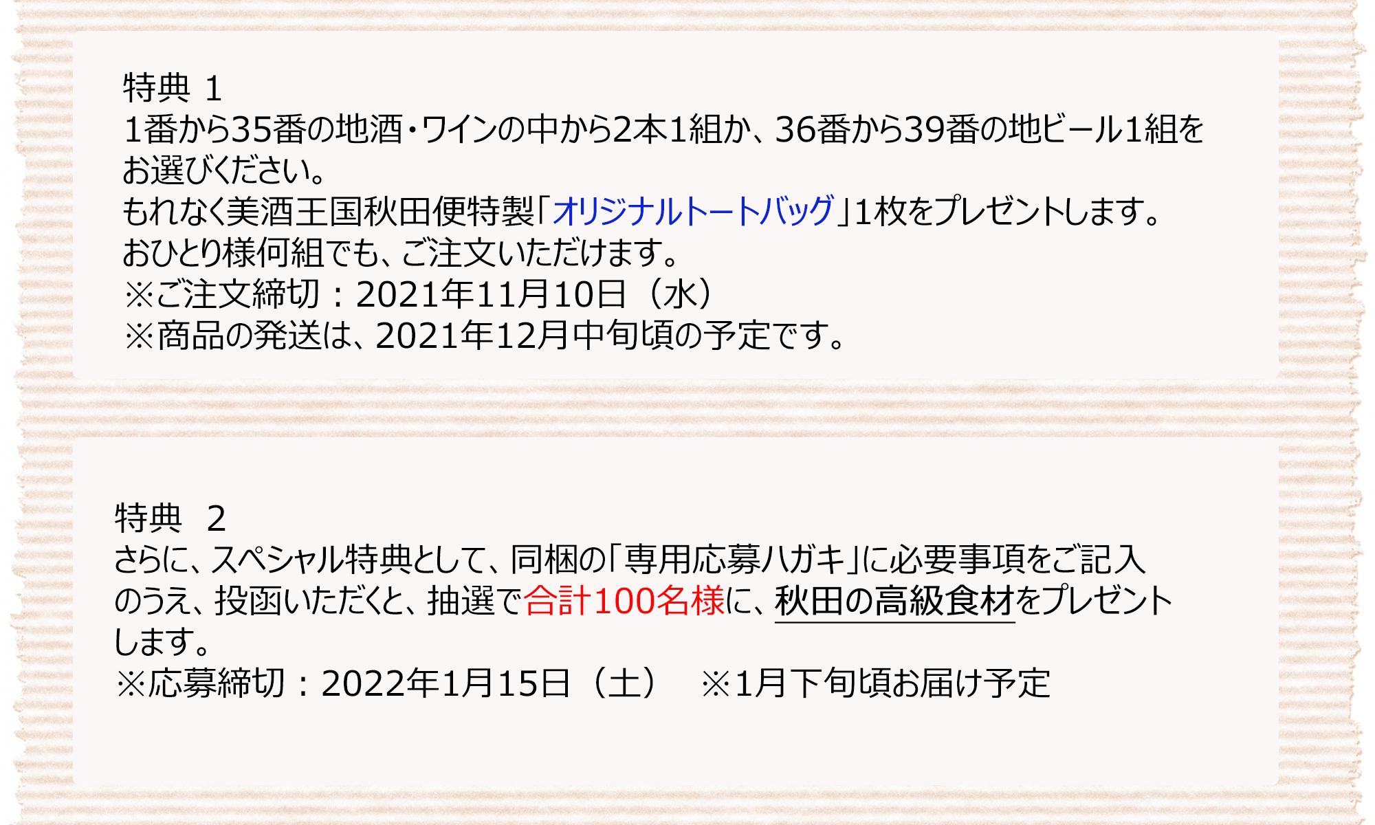 美酒王国秋田便2021