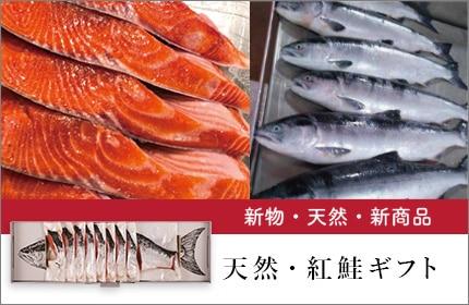 天然・紅鮭ギフト