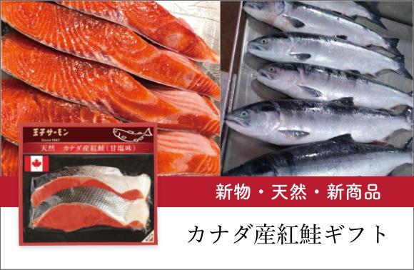 カナダ産紅鮭ギフト