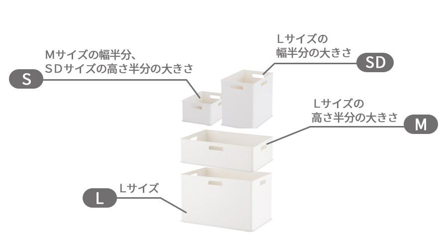 インボックス サイズバリエーション