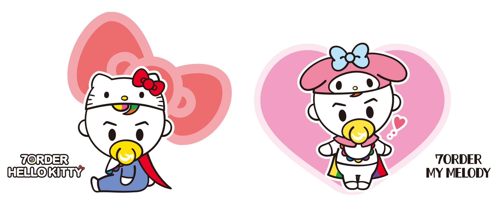 ハローキティ×foxy illustrations