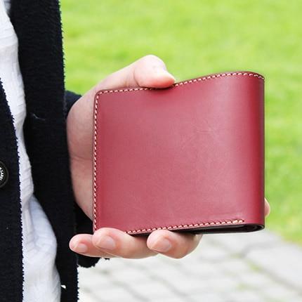 二つ折り財布 コインケースなし