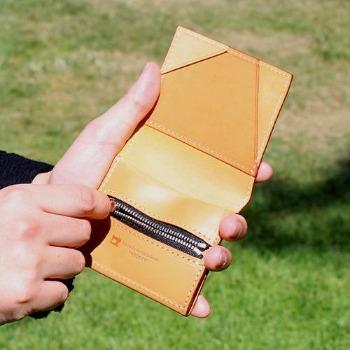 薄型二つ折り財布 エルバマット
