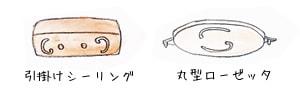 引掛けシーリング 丸型ローゼッタ