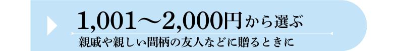 夏ギフト 価格帯 1001円〜2000円