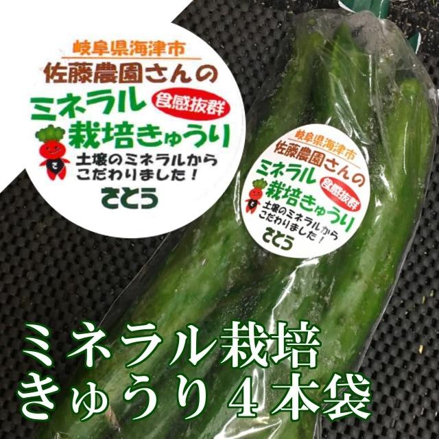 ミネラル栽培きゅうり 岐阜県 特産品 こだわりの土壌づくり 食感抜群