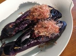 飛騨産 大なす 焼きなす用 茄子 岐阜県特産 みそたっぷりで!
