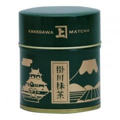 掛川抹茶 緑缶20g