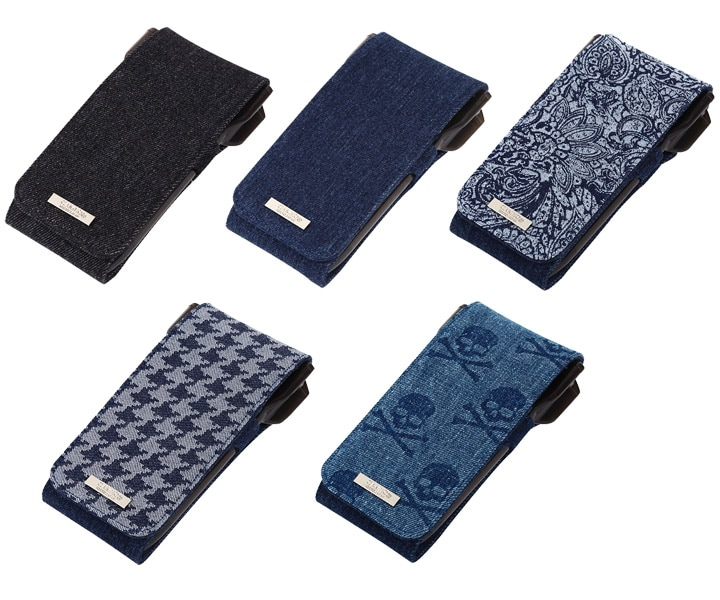 DARTS CASE【CAMEO】SKINNY LIGHT Indigo Black