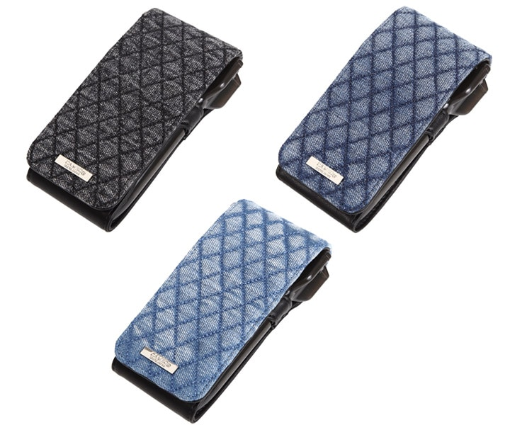 DARTS CASE【CAMEO】SKINNY LIGHT QUILT Black