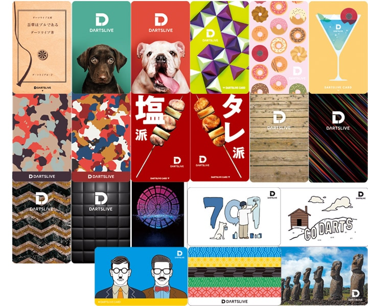 DARTS GAME CARD【DARTSLIVE】NO.1891