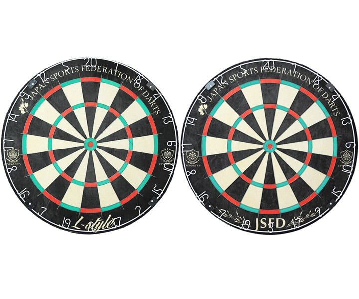 DARTS BOARD【DYNASTY】EMBLEM King 2 JSFD×L-style 【451】(寄送僅限台灣地區;無法超商取付)
