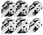 DARTS FLIGHT【Fit Flight】Printed Series Panda Shape