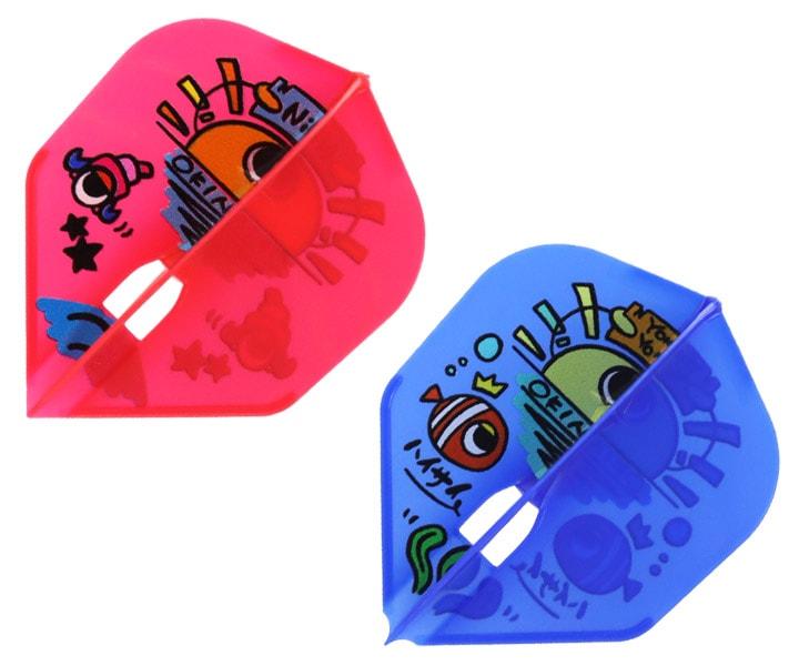 DARTS FLIGHT【L-Flight】PRO 島村麻央 ver.1 Shape MIX