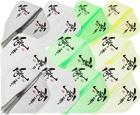 DARTS FLIGHT【JokerDriver】零-ZERO- 零Logo Practice Standard Clear Black