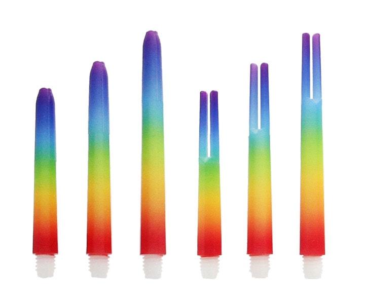 DARTS SHAFT【Ptera Factory】Actagon G Rainbow Short
