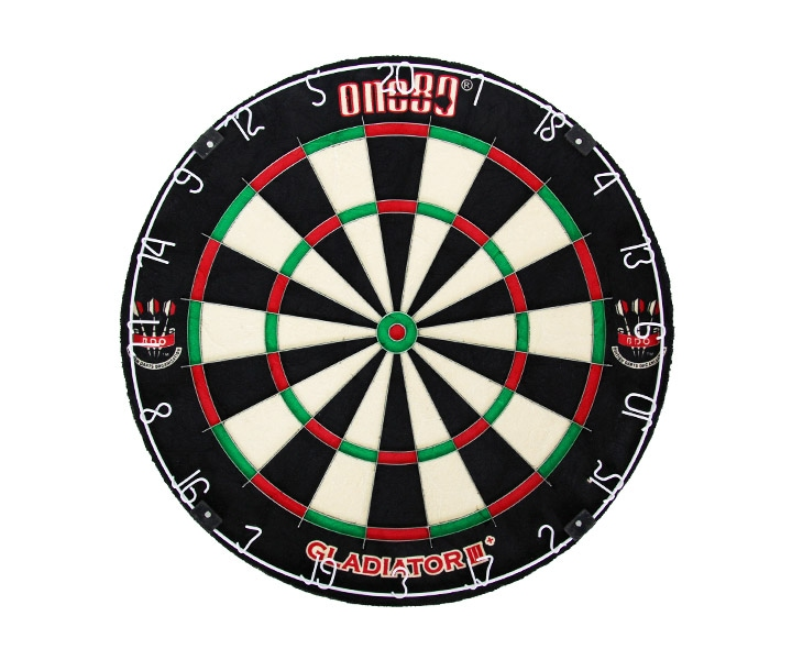 DARTS BOARD【One80】Gladiator 3 Bristle Board BDO Logo(寄送僅限台灣地區;無法超商取付)