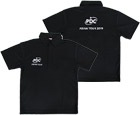 DARTS APPAREL【PDJ】PDC ASIAN TOUR 2019 Polo Shirt Black S