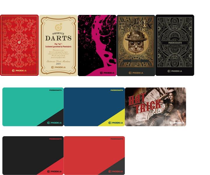 DARTS CARD【PHOENIX】NO.2161
