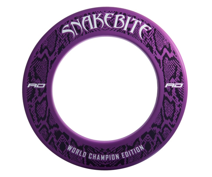 DARTS BOARD ACCESSORIES【Red Dragon】Surround Snakebite WC 2020 Purple(寄送僅限台灣地區;無法超商取付)
