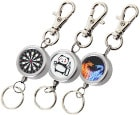 DARTS ACCESSORIES【S4】Reel Keyholder Twin Fire Dragon