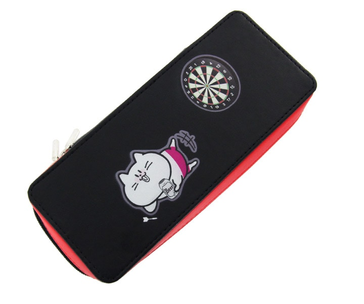 DARTS CASE【S4】LABI Black x Red S4 CATS Yuruneko san ver.