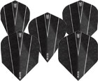 DARTS FLIGHT【TARGET】VISION ULTRA ROB CROSS PIXEL Shape Black 334200