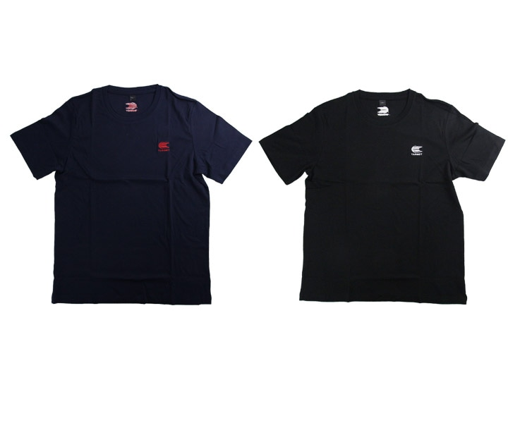 DARTS APPAREL【TARGET】T-Shirt Navy with Red XS