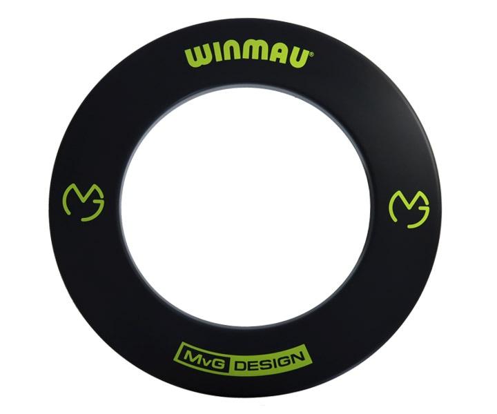 DARTS BOARD ACCESSORIES【WINMAU】Surround  MVG Model Black(寄送僅限台灣地區;無法超商取付)