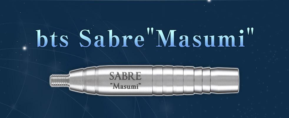 【bts Sabre Masumi】2015年11月8日発売