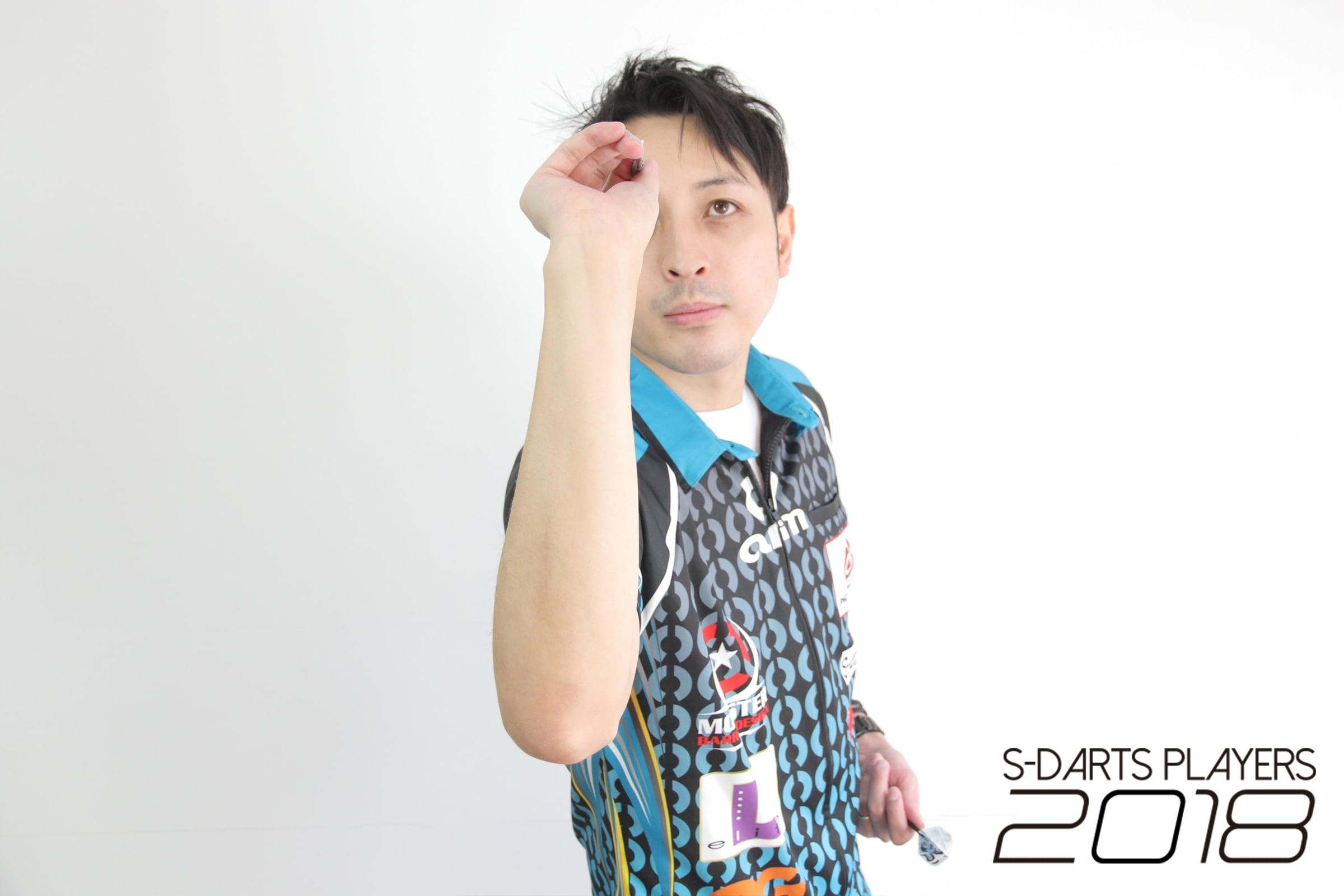 S-DARTS PLAYERS 2018│鈴木 徹