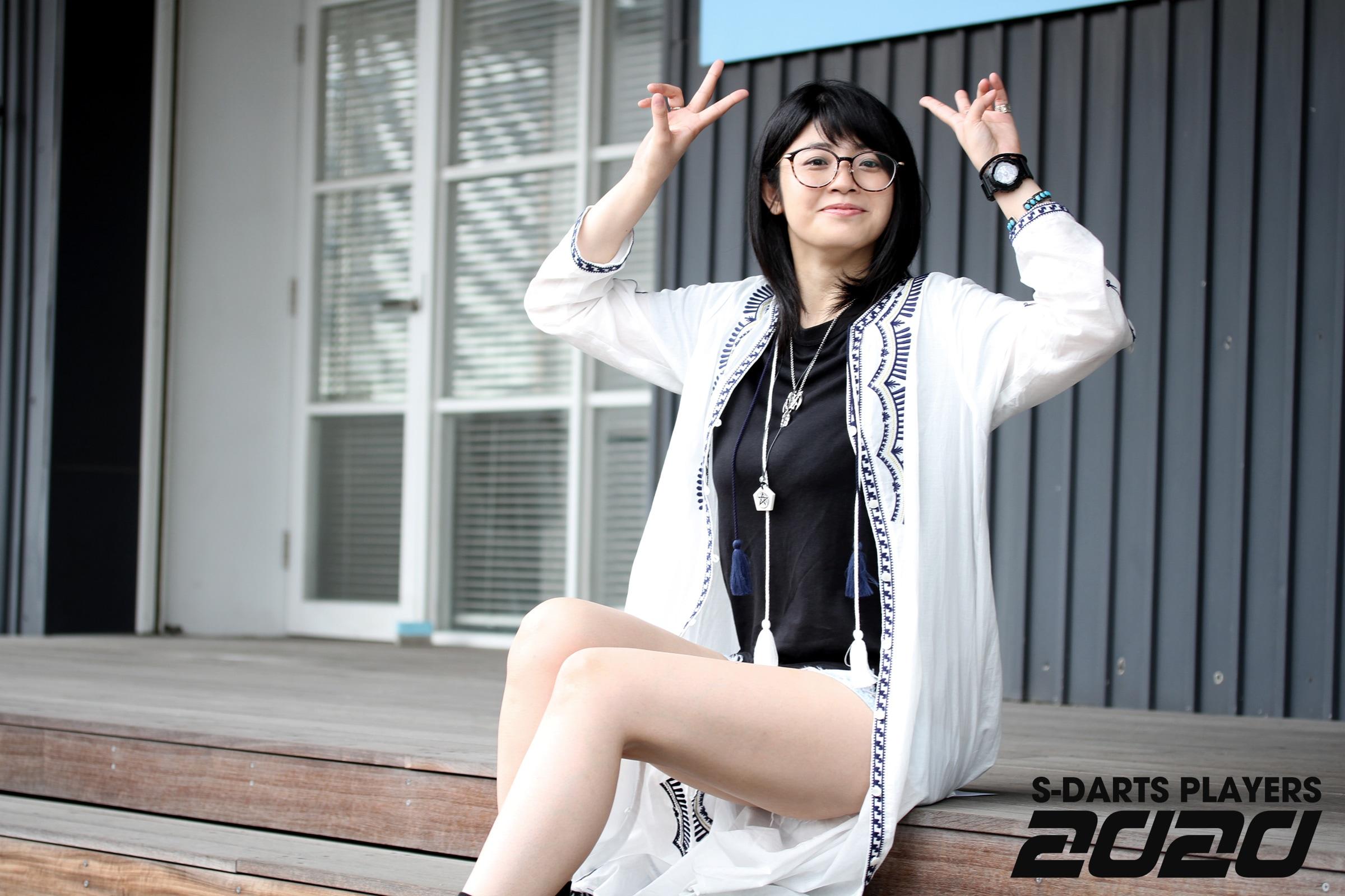 S-DARTS PLAYERS 2020│坂口優希恵