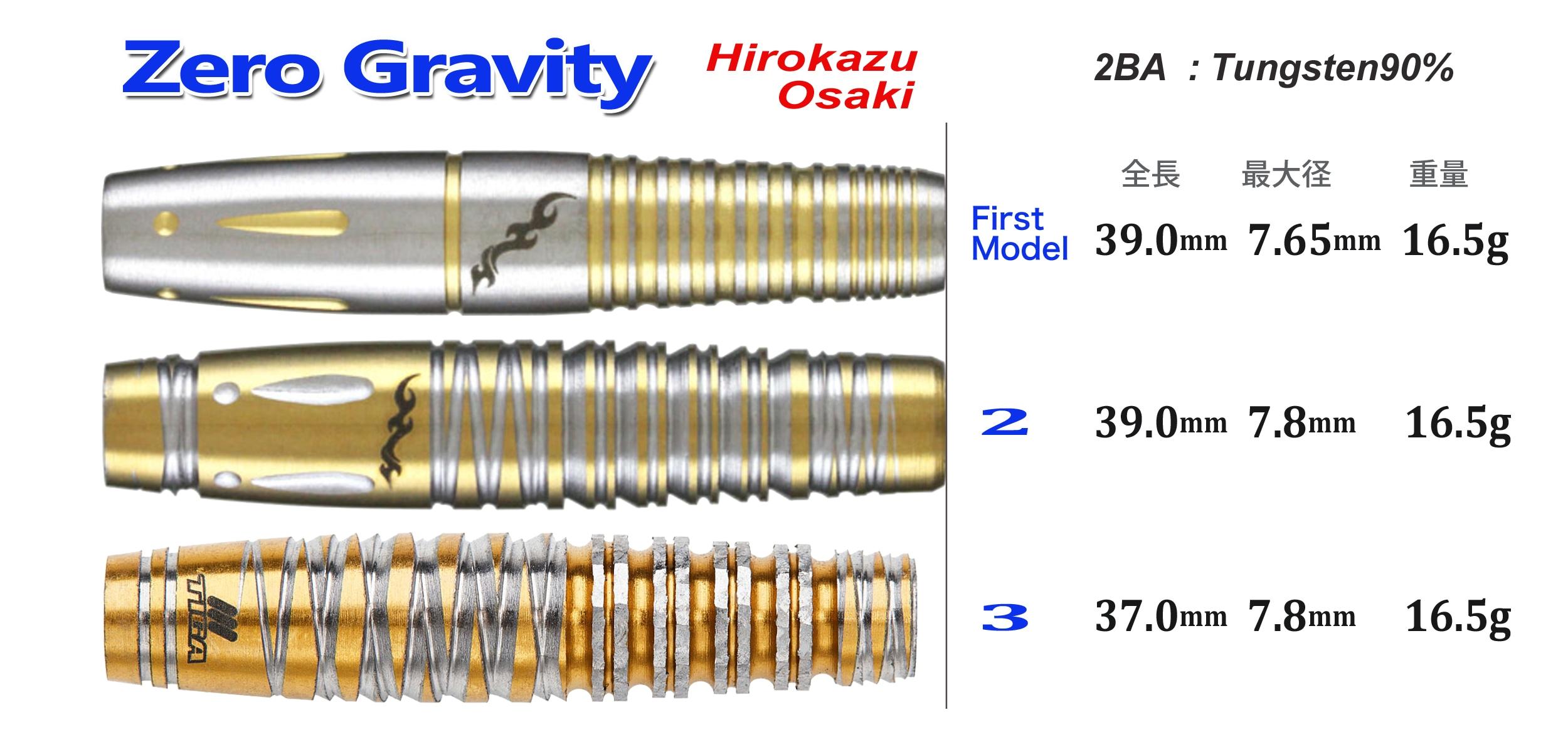 ゼログラビティ3 大崎裕一モデル