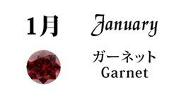 1月ガーネット